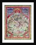 Dharmachakra, Wheel of Transmigratory Existence by Tibetan School