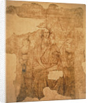 Madonna and Child Enthroned, drawing for a fresco by Paolo di Stefano Badaloni Schiavo