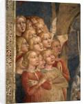 Fragments of heads by Tommaso Masolino da Panicale
