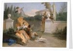 Rinaldo and Armida in Her Garden, 1742-45 by Giovanni Battista Tiepolo