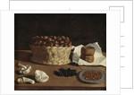Kitchen Still Life, c.1640 by Paolo Antonio (attr.to) Barbieri