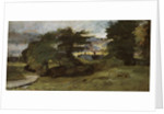 Landscape with Cottages, 1809-10 by John Constable
