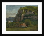 The Rock of Hautepierre, c.1869 by Gustave Courbet
