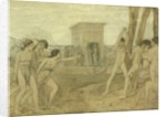 Young Spartan Girls Challenging Boys, c.1860 by Edgar Degas
