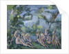 The Bathers, 1899-1904 by Paul Cezanne