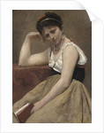 Interrupted Reading, c.1870 by Jean Baptiste Camille Corot