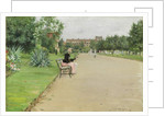 A City Park, c.1887 by William Merritt Chase