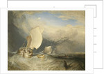 Fishing Boats with Hucksters Bargaining for Fish, 1837-38 by Joseph Mallord William Turner