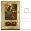 Beata Beatrix, 1871-72 by Dante Gabriel Charles Rossetti