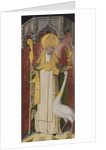 Altarpiece from Thuison-les-Abbeville: Saint Hugh of Lincoln, 1490-1500 by French School