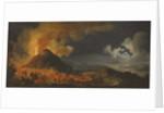 The Eruption of Vesuvius, 1771 by Pierre Jacques Volaire