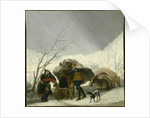 Winter Scene, c.1786 by Francisco Jose de Goya y Lucientes