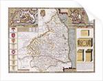 Northumberland by John Speed