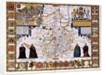 Cambridgeshire by John Speed