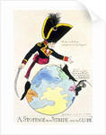 A Stoppage to a Stride over the Globe by English School