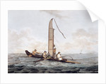 A Sailing Canoe of Otaheite by John Webber