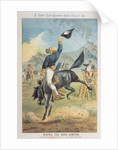 Riding the Buck Jumpers, Lord Salisbury on the Black Horse, Gladstone by Tom Merry