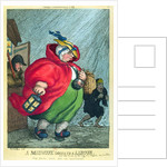 A midwife going to a labour by Thomas Rowlandson