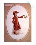 Boy Dressed in Scarlet by Kate Greenaway