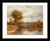 The Lock at Dedham by Frederick Waters Watts