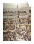The Coronation Procession of King Edward VI in 1547 by English School