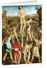 Martyrdom of St. Sebastian by Antonio and Piero del Pollaiuolo
