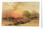 The Sphinx at Giza by David Roberts