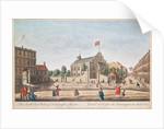 Kensington Church, London, S.E. View by English School