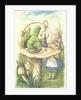 Alice Meets the Caterpillar by John Tenniel