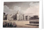 Mounting Guard at St. James's Park by T. & Pugin
