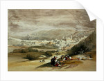 Hebron, 18th March 1839 by David Roberts