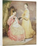Portrait of Florence Nightingale and her sister, Frances Partenope, Lady Verney, 19th by William White