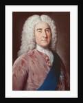 Portrait of Thomas Pelham Holles Duke of Newcastle under Lyme by William