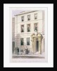 The New Front of Painter Stainers Hall by Thomas Hosmer Shepherd