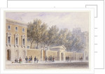 The New Entrance to Grocers' Hall by Thomas Hosmer Shepherd