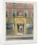 The Entrance to Weavers Hall by Thomas Hosmer Shepherd
