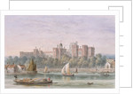 View of Lambeth Palace from the Thames by Thomas Hosmer Shepherd