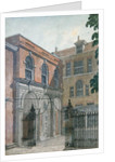 The Inner Court to Old Salters' Hall by Wilson