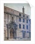 The Old Entrance to Merchant Taylors' Hall, Threadneedle Street by Wilson