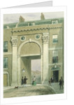 Gateway to the River, Essex Street by Thomas Hosmer Shepherd