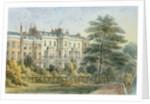East front of Sir Robert Peel's House in Privy Garden 1851 by Thomas Hosmer Shepherd