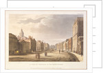 A View of Whitehall and The Horse Guards by English School