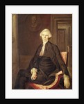 Portrait of Laurence Sterne by English School