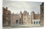 View in the Kitchen Court of St. James's Palace by John Buckler
