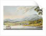 View of Hobart Town by Joseph Lycett