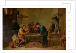 Backgammon Players by David the Younger Teniers