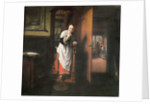 Lovers with a Woman Listening by Nicolaes Maes