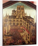 Dr. J. King's Sermon at St. Pauls Cathedral in 1616 by English School