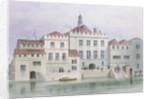 View of Old Fishmongers Hall by Thomas Hosmer Shepherd