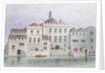 View of Old Fishmongers Hall by Thomas Hosmer Shepherd